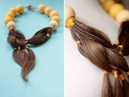 jewelry made from hair stunning jewellery made of hair from women undergoing chemotherapy