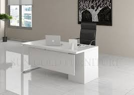 Whitewash Desk Desk The Most Stylish Along With Beautiful Executive White Regard