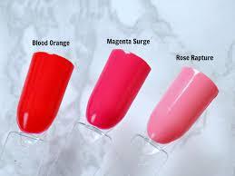 summer nails my favourite shades nail polishes and top coats