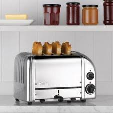 Dualit Toaster Sale Dualit Toasters With Crumb Tray And 4 Slices Ebay