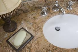 What Are Bathroom Sinks Made Of 5 Bathroom Countertop Materials From Good To Best