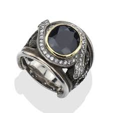 men rock rings images Men 39 s large sapphire rock n 39 roll ring lazaro soho jpg&a