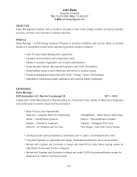 Sample Resume Objectives Factory Worker by Hvac Resume Examples