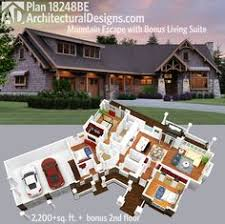 Mountain Home Designs Floor Plans Hillside Retreat 8189lb Northwest Narrow Lot 2nd Floor