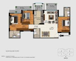 dlf regal gardens floor plan