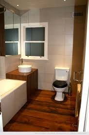 Wood Floor Bathroom Ideas Small Bathroom Wooden Flooring Designs Inspirations Jangbiro
