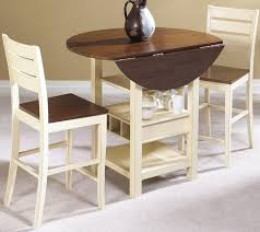 Drop Leaf Pub Table Drop Leaf Table With Hidden Chairs Tags Contemporary Drop Leaf
