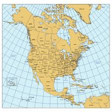 map of usa states and capitals and major cities america powerpoint map w countries provinces states