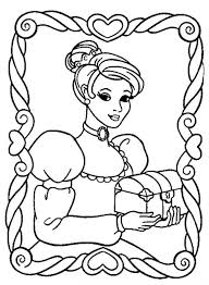 beautiful princess comes to a palace coloring pages cartoon