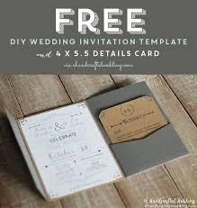 diy wedding invitation templates diy wedding invitation templates