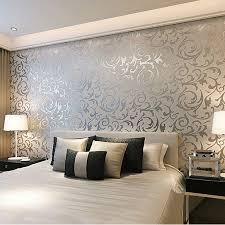 Gray Wallpaper Bedroom - wallpapers bedroom walls home design