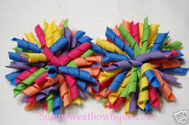korker bows handmade boutique hair bows multi color korker bow