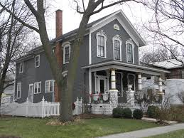1 photo of 21 for gray victorian house house colors pinterest