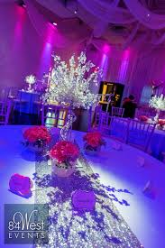 sweet 16 centerpieces pink and silver sweet 16 fort lauderdale florida by 84 west