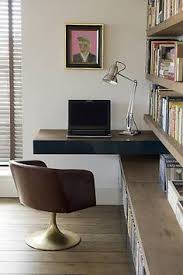 Small Desk With Shelves by Small Home Office Idea Make Use Of A Small Space And Tuck Your