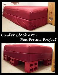 53 best cinder block bedframe storage bed 12