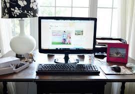 Modern Computer Desk by Masculine Martha Stewart Black Desk With Modern Computer Design