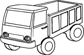kids truck coloring page wecoloringpage