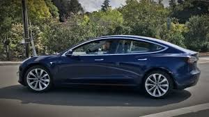 tesla model 3 best pictures of the new blue release candidate