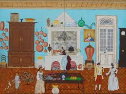 New Orleans Kitchen by Southern Folk Artist U0026 Antiques Dealer Collector