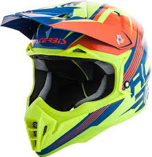 orange motocross helmet acerbis impact 3 0 motocross helmet helmets offroad orange yellow