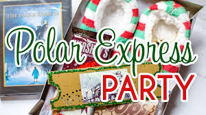 polar express party for kids polar express collab brought