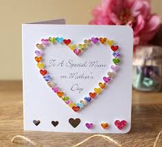 handmade 3d mother u0027s day card personalised personalized