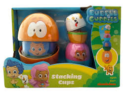 amazon com bubble guppies stacking cups baby shape and color