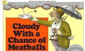 book review cloudy chance meatballs judi barrett