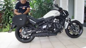 motorcycle accessories 2016 kawasaki vulcan s touring setup accessories and reviewand
