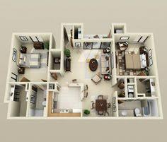 50 three u201c3 u201d bedroom apartment house plans bedroom apartment
