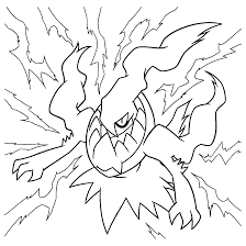 pokemon coloring pages darkrai olegandreev me