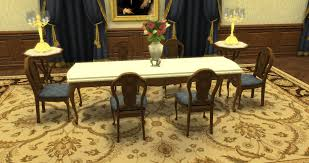 mod the sims romantique set dining room u0026 living room