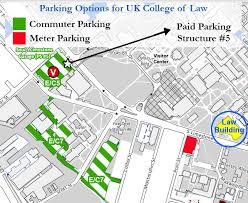 uky map parking uk of