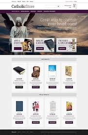 catholic gift shops website templates religious candle custom website template