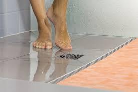 schluter kerdi shower st prefabricated substrates shower