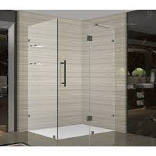 corner shower doors shower doors home depot