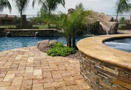 travertine patio tile