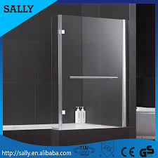 china supplier bathroom shower bathtub screen 6mm glass tempered
