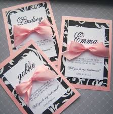 bridesmaids invitations diy bridesmaids invites i like the personalized names different