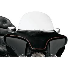 slip streamer 13 in clear windshield for hd touring fairings s