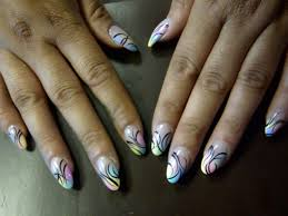 43 classy and cheery nail art for oval nails that you will love to try