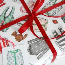 cool christmas wrapping paper baby s christmas wrapping paper set clara and macy