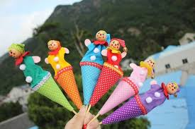 clown puppets for sale 6pcs lot baby plush doll toys sale lovely clown
