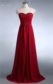 Wine Colored Bridesmaid Dresses Online Buy Wholesale Wine Colored Bridesmaid Dress From China Wine