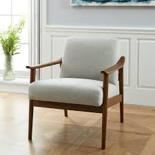 Vintage Wooden Chair Mid Century Show Wood Chair West Elm