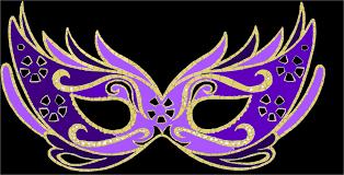 purple masquerade mask purple masquerade masks clipart 44