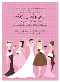 bridesmaids invitations modern pink bridesmaids invitation myexpression 20540