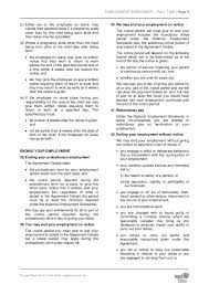 employment agreement employment separation agreement form example