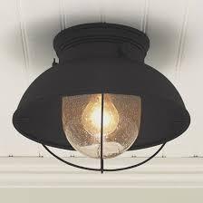 Outdoor Flush Mount Lighting Fixtures Outdoor Flush Mount Light Modern Nantucket Ceiling Intended For 16